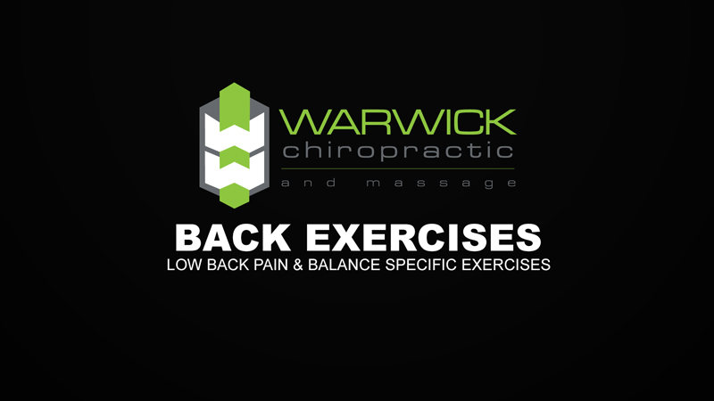 Low Back Pain & Balance Specific Exercises